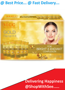 VLCC Gold Facial Kit for Bright & Radiant Complexion 300 gm - Free Shipping