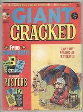 Giant Cracked Annual #11 G- 1975 Still has posters