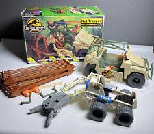 Vtg Kenner The Lost World Jurassic Park Net Trapper Off-Road Vehicle Box + Bonus