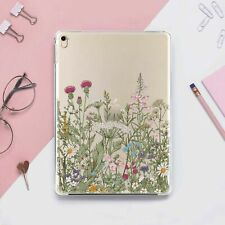 Wild Flower Floral Cover For iPad 9.7 10.5 2017 Pro 11 2018 12.9 Mini 4 5 Air 3