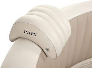 Intex PureSpa Head Rest Hot Tub Accessories Inflatable Head Neck Pillow Cushion