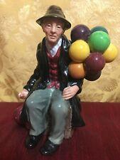 "Vintage Royal Doulton The Balloon Man Hn1954 Porcelain 7.25""T"