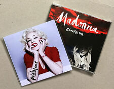 MADONNA * GHOSTTOWN * GERMANY 2 TRK CD & UK 1 TRK PROMO SET * HTF! * REBEL HEART