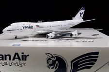 INFLIGHT 200 IF742IR0001 1/200 L'IRAN AIR BOEING 747-200 EP-IAI con supporto