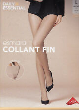 ESMARA COLLANT LYCRA FIN - TIGHTS 20 DEN - CHAIR -  T. 46/48 LARGE - 100% NEUF