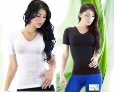 REDU POWER ABS WOMAN SMALL slimming T-Shirt shaper slim hot Cami CONTROL