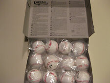 Lot of 12 Official Size Corkball Baseball Cork Ball Corkballs w/ Official Rules