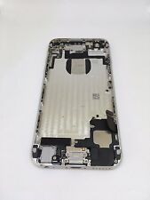 Genuine Original Apple iPhone 6 Back Rear Housing Cover with Parts - Silver