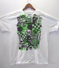 PUNK ROCK skull & music t-shirt by THE GREEN PROJECT Men's 2XL NEW XXL Tshirt