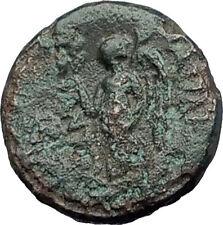 ANTIOCHOS I SOTER 281BC RARE R1 Ancient Seleukid Greek Coin ATHENA & NIKE i63245