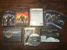 Halo Wars Limited Edition (Xbox 360) Xbox One COMPLETE Steel Book Cards Strategy