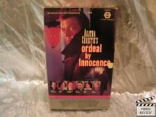 Agatha Christie's Ordeal By Innocence VHS Large Case Donald Sutherland