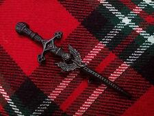 TC KILT PIN divers finition//Kilt Pin St Andrew Chrome Or Finition Noir