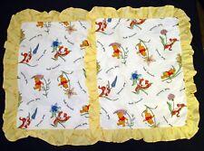 Disney Pillow Shams Pooh-tanicals Floral Set of 2