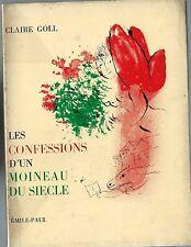 EO ILLUSTRÉE + CLAIRE GOLL + DÉDICACE : LES CONFESSIONS D'UN MOINEAU DU SIÈCLE