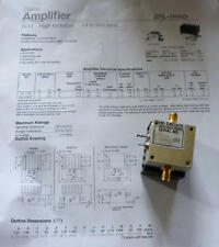 Mini Circuits ZFL 1 HAD 10-500 MHz Power Amplifier/Verstärker  SMA Coaxial used