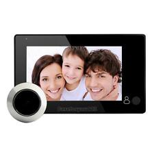 "4.3"" LCD Digital Video Door Eye Peephole Viewer 145° Doorbell IR Camera Monitor"