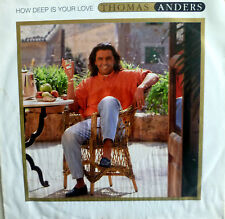 """7"""" 1992 RARE VG+! THOMAS ANDERS (= MODERN TALKING ) How Deep Is Your Love"""