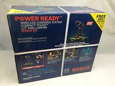 Bosch Tools 18V Drl/Dvr Kit w/ Wrlss Charging +Mobile Holster WC18CHF-102DDS NEW