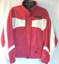 Spyder Ladies Coat Jacket Size 10 Red White