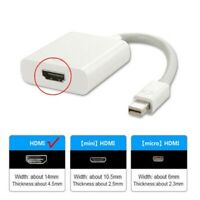 Adapter Thunderbolt Mini DP Display Port To HDMI For PC Macbook TV Projector