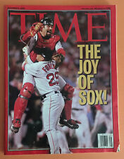 2004 BOSTON RED SOX - THE JOY OF SOX  TIME MAGAZINE - NICE CONDITION