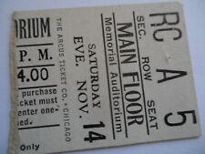 ROLLING STONES__1964__CONCERT TICKET STUB__Louisville, KY