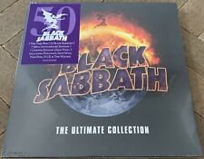 Black Sabbath The Ultimate Collection 4LP 50th Anniversary Gold Vinyl New Mint