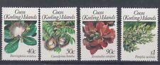 Cocos Islands 1989 Fiori (III) 203-06 MNH