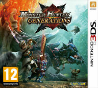 Monster Hunter Generations (3DS)  NEW AND SEALED Game - Gift Idea -