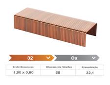 Heftklammer 32/18 CU - 2.000 Stück
