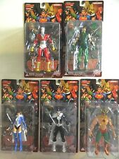 DC IDENTITY CRISIS SERIES 1 COMPLETE SET OF 5/GREEN ARROW/DEADSHOT/SUICIDE SQUAD