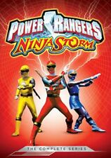 Power Rangers Ninja Storm The Complete Series Season New DVD