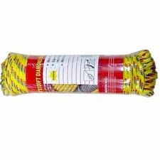 """Multi-Purpose Assorted Color Polypropylene Rope Tie Down Utility Rope (1/4"""", 100"""