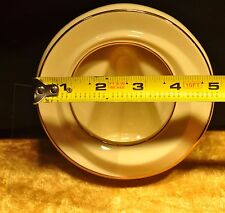 Lenox Ivory Round Picture Frame Trimmed with Gold
