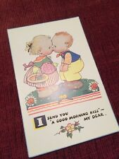 Vintage Mabel Lucie Attwell Postcard - Valentine's