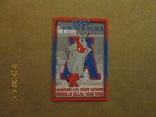 United League Amarillo Dillas Vintage Defunct 2007 Team Logo Pocket Schedule