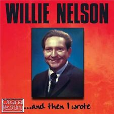 WILLIE NELSON ...AND THEN I WROTE (NEW SEALED CD) ORIGINAL RECORDING