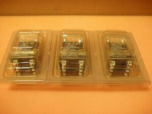 3 x Dayton 5X838M Relays, Coil: 120VAC 50/60Hz, 15A DPDT open box new pictured