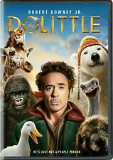 Dolittle (DVD, 2020) Robert Downey Jr New & Sealed Fast Free Shipping