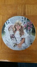 """1989 """"Anna"""" by Corinne Layton collector plate"""