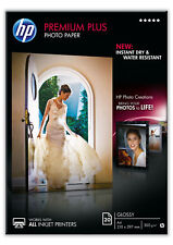 HP Premium Plus A4 Glossy Photo Paper - 20 Sheets