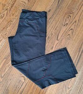 Title Nine Running Athletic Active Travel Pants Women's Size L Black