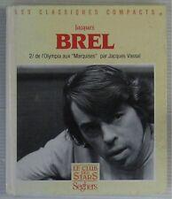 Jacques Brel Livre Seghers Jacques Vassal 1988