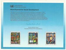 Les Nations Unies Scott # NY 47, excellent état CARTE 2/3/95