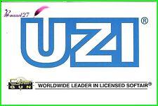 "Autocollant CYBER GUN Worldwide leader in licensed softair arme "" UZI """