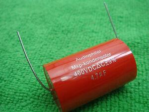 20 Audiophiler MKP 4.7uF 400V 12V audio grade capacitor