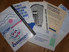 1981 Evinrude 4 hp Model Owners Manual # 209038 with many extra's
