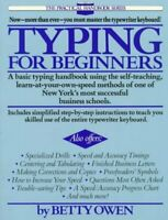 Typing for Beginners, Paperback by Owen, Betty, Brand New, Free shipping in t...