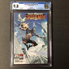 Miles Morales Spider Man 28 (2021) CGC 9.8 Captain America Variant